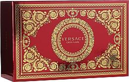 Parfums et Produits cosmétiques Versace Eros Flame - Coffret (eau de parfum/100ml + eau de parfum/10ml + trousse de toilette)