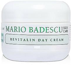 Parfums et Produits cosmétiques Crème de jour à la cire d'abeille - Mario Badescu Revitalin Day Cream