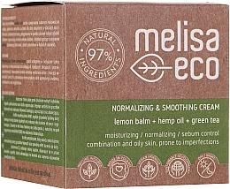 Parfums et Produits cosmétiques Crème à l'huile de chanvre pour visage - Melisa Eco