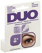 Parfums et Produits cosmétiques Colle transparente et waterproof pour faux-cils individuels - Duo Individual Lash Adhesive