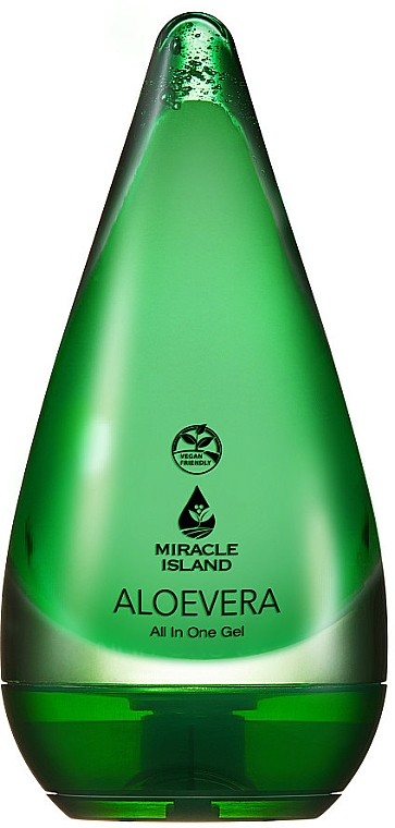 Gel à l'aloe vera pour visage et corps - Miracle Island Aloevera 99% All In One Gel