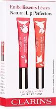 Parfums et Produits cosmétiques Coffret (gloss/2x12ml) - Clarins Natural Lip Perfector Set Limited Edition