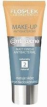 Parfums et Produits cosmétiques Fond de teint antibactérien matifiant pour peaux grasses - Floslek Anti Acne Make Up