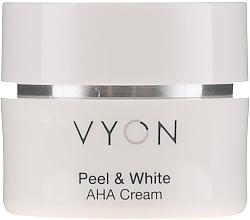Parfums et Produits cosmétiques Crème éclaircissante anti-taches pour visage - Vyon Peel and White AHA Cream