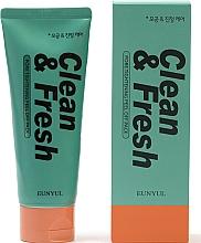 Parfums et Produits cosmétiques Masque peel-off à l'extrait de lime pour visage - Eunyul Clean & Fresh Pore Tightening Peel Off Pack
