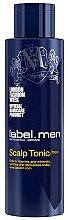 Parfums et Produits cosmétiques Lotion tonique apaisante aux vitamines et minéraux pour cuir chevelu - Label.m Label Men Scalp Tonic