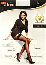 Parfums et Produits cosmétiques Bas autofixants pour femme, Oplot, 15 Den, natural - Adrian