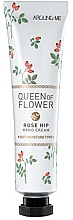 Parfums et Produits cosmétiques Crème pour mains, Rose musquée - Welcos Around Me Queen of Flower Rose Hip Hand Cream