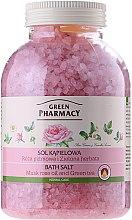 Parfums et Produits cosmétiques Sels de bain Rose musquuée et thé vert - Green Pharmacy