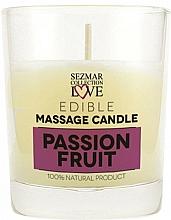 Parfums et Produits cosmétiques Bougie de massage naturelle Fruit de la passion - Sezmar Collection Passion Fruit