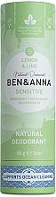 Parfums et Produits cosmétiques Déodorant Citron et Lime  - Ben&Anna Natural Deodorant Sensitive Lemon & Lime