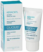 Masque triple action pour visage - Ducray Keracnyl Masque Triple Action — Photo N2