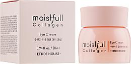 Parfums et Produits cosmétiques Crème au collagène contour des yeux - Etude House Moistfull Collagen Eye Cream