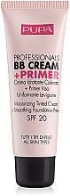 Parfums et Produits cosmétiques BB crème et base tous types de peau - Pupa Profesional bb Cream + Primer Tone-Cream