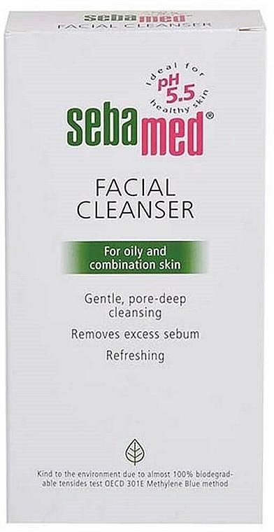 Nettoyant à l'extrait d'hamamélis de Virginie pour visage - Sebamed Facial Cleanser For Oily And Combination Skin — Photo N2