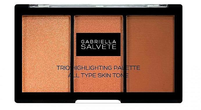 Palette d'enlumineurs - Gabriella Salvete Trio Highlighting Palette — Photo N1