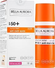 Parfums et Produits cosmétiques Fluide solaire pour visage - Bella Aurora Anti-Manchas Treatment SPF50+