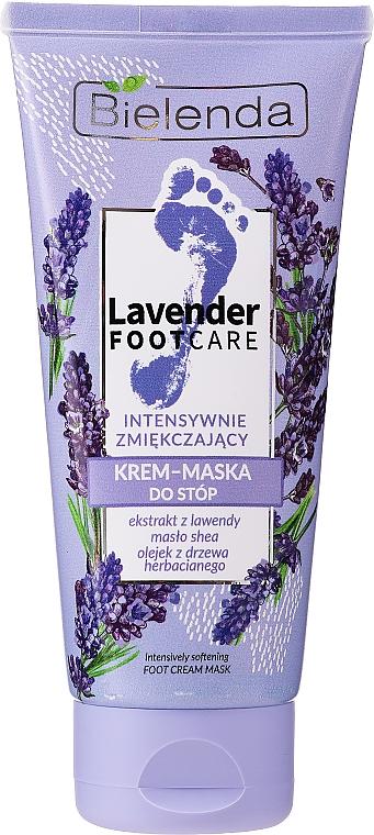 Crème-masque à l'extrait de lavande pour pieds - Bielenda Lavender Foot Care Foot Cream Mask