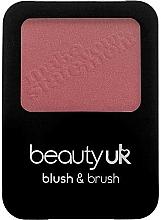 Parfums et Produits cosmétiques Blush avec pinceau - Beauty UK Blush & Brush