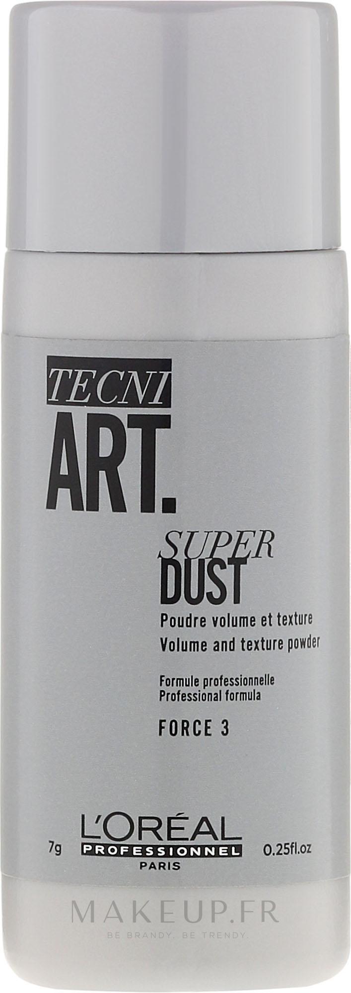 Poudre volumisante et texturisante pour les cheveux - L'Oreal Professionnel Tecni.Art Super Dust Force 3 — Photo 7 g