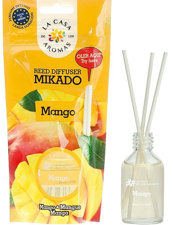 Bâtonnets parfumés, Mangue - La Casa de Los Aromas Mikado Reed Diffuser