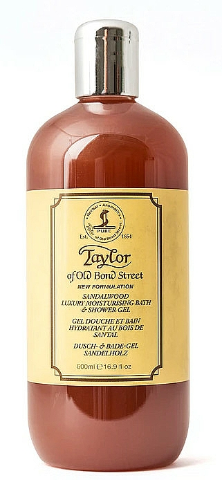 Taylor of Old Bond Street Sandalwood Shower Gel - Gel bain et douche hydratant