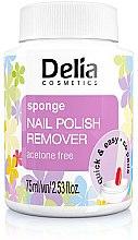 Parfums et Produits cosmétiques Dissolvant de vernis à ongles avec éponge, sans acétone - Delia Sponge Nail Polish Remover Acetone Free