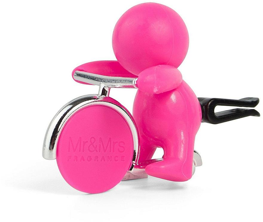 Mr&Mrs Fragrance Gino Citrus & Musk Fuchsia - Désodorisant pour voiture — Photo N1