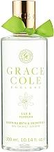 Parfums et Produits cosmétiques Gel douche et bain moussant, Muguet et Verveine - Grace Cole Lily & Verbena Bath & Shower Gel