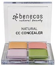 Parfums et Produits cosmétiques Palette de correcteurs - Benecos Natural CC Concealer