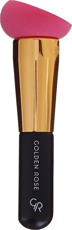 Éponge à maquillage avec poignée - Golden Rose Foundation Brush With Sponge — Photo N1