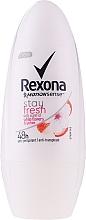 Parfums et Produits cosmétiques Déodorant roll-on, parfum fleurs blanches et litchi - Rexona Stay Fresh Deo Roll-On White Flowers