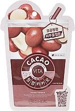Parfums et Produits cosmétiques Masque tissu au cacao pour visage - Mediheal Vita Cacao Mask