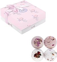 Parfums et Produits cosmétiques Set de bombes de bain effervescentes - Chantilly Soft Rose