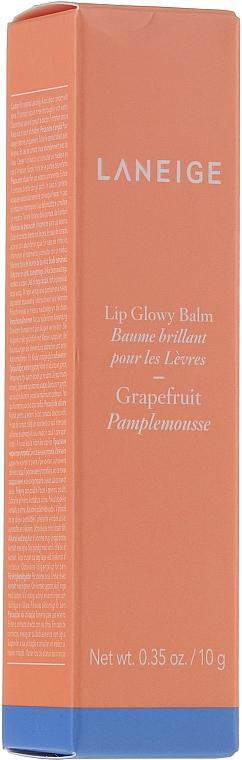 Baume brillant à l'extrait de pamplemousse pour lèvres - Laneige Lip Glowy Balm Grapefruit — Photo N1