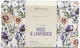Parfums et Produits cosmétiques Savon - IDC Institute Soothing Hand Natural Soap Rose & Lavender