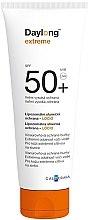 Parfums et Produits cosmétiques Lait protecteur aux liposomes, ultra résistant à l'eau pour visage, peaux sensibles SPF 50+ - Daylong Extreme Lotion SPF50