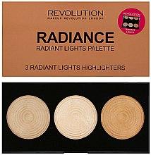 Parfums et Produits cosmétiques Palette d'enlumineurs pour visage illuminer - Makeup Revolution Highlighter Palette
