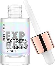 Parfums et Produits cosmétiques Accélérateur de séchage pour vernis à ongles - Catrice Express Quick Dry Drops