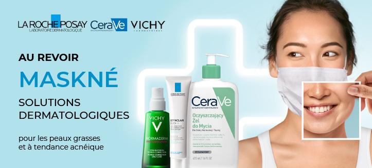 Réductions sur les produits promotionnels La Roche-Posay et Vichy. Les prix sur le site sont indiqués avec des réductions
