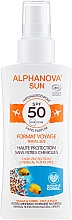 Parfums et Produits cosmétiques Spray solaire - Alphanova Sun Bio SPF50 Spray Voyage