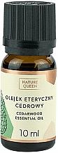Parfums et Produits cosmétiques Huile essentielle de cèdre - Nature Queen Essential Oil Cedarwood