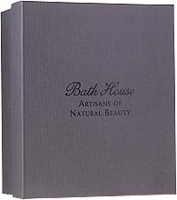 Parfums et Produits cosmétiques Bath House Spanish Fig and Nutmeg - Coffret cadeau (gel douche/160ml +savon/150g + déodorant/50ml + serviette/1pcs + brosse/1pcs)