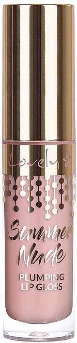 Gloss repulpant - Lovely Summer Nude Plumping Lip Gloss