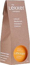 Parfums et Produits cosmétiques Déodorant crème naturel aux agrumes - The Lekker Company Natural Deodorant Mandarin & Lemon