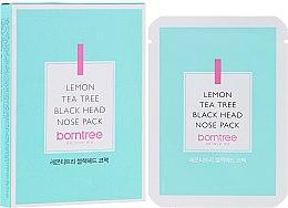 Parfums et Produits cosmétiques Patchs nettoyants anti-points noirs pour nez - Borntree Lemon Teatree Black Head Nose Pack