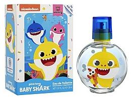 Parfums et Produits cosmétiques Air-Val International Baby Shark - Eau de Toilette