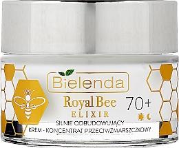 Parfums et Produits cosmétiques Crème-concentré à la gelée royale pour visage - Bielenda Royal Bee Elixir 70+ Cream Concentrate