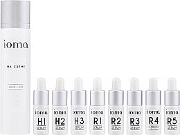 Parfums et Produits cosmétiques Ioma Ma Creme Set Day Base - Set (crème pour visage/40ml + sérum pour visage/8x5ml)