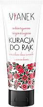 Parfums et Produits cosmétiques Masque à l'extrait de trèfle rouge et huile de pépins de raisin pour mains - Vianek